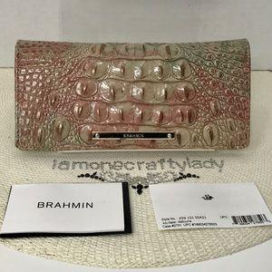 Brahmin Ady Wallet SAHARA MELBOURNE Leather NEW
